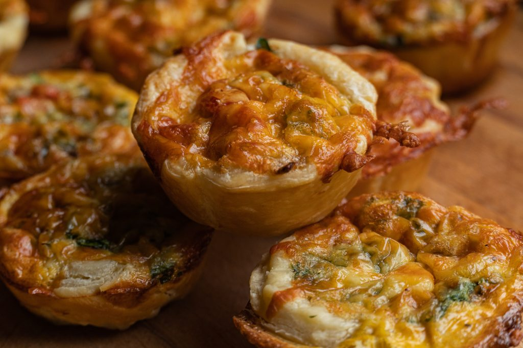 Super Duper Easy Mini Quiches